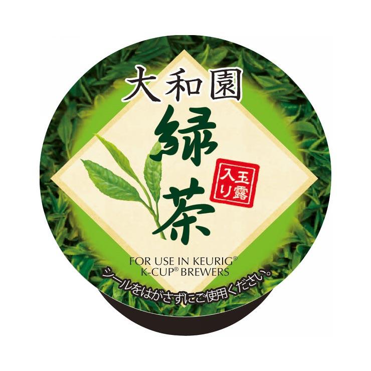 キューリグ コーヒーメーカー専用 Kカップ(12個入)玉露入り緑茶 411390 の商品画像