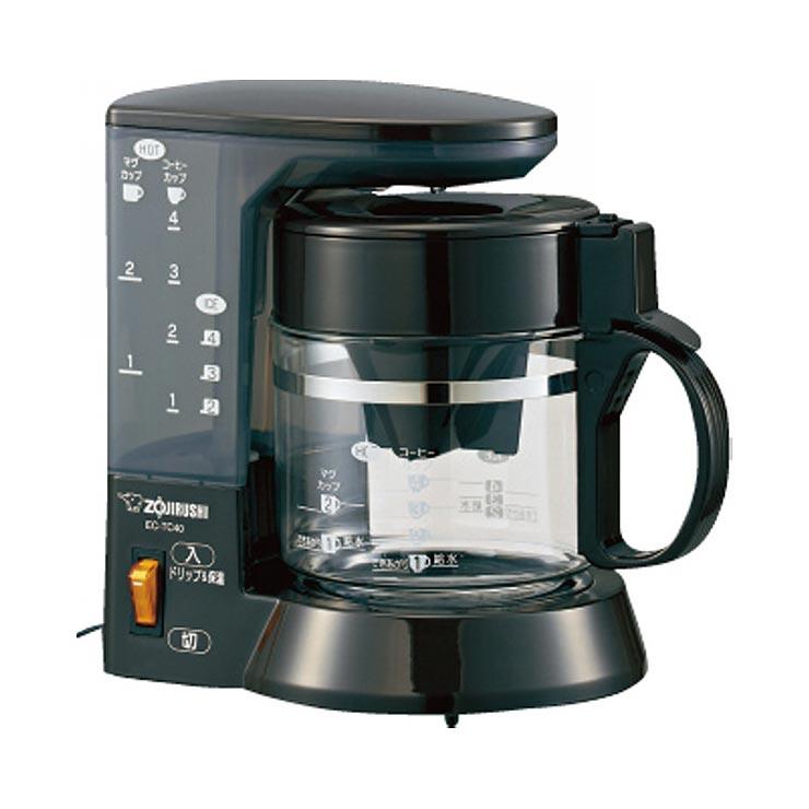 象印 浄水コーヒーメーカー(4杯用) EC−TC40−TA の商品画像