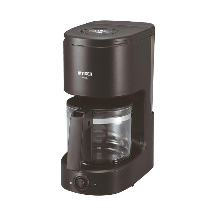 タイガー コーヒーメーカー(6杯用)ブラック ACC−A060K の商品画像