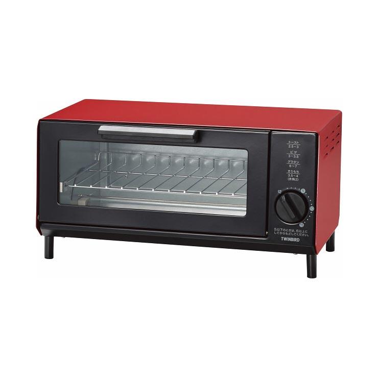 ツインバード オーブントースター TS‐4034R の商品画像