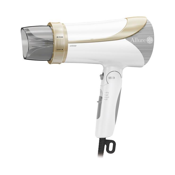 イズミ マイナスイオンドライヤー ホワイト DR−RM75W の商品画像