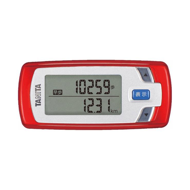 タニタ 活動量計カロリズム forウォーキング レッド EZ062RD の商品画像