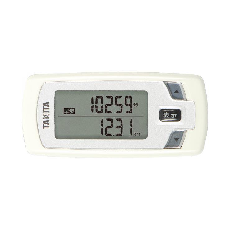 タニタ 活動量計 カロリズム forウォーキング ホワイト EZ062WH の商品画像