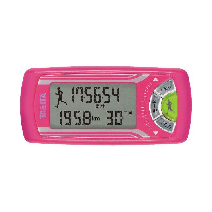 タニタ 活動量計 カロリズム forジョギング ピンク EZ063PK の商品画像