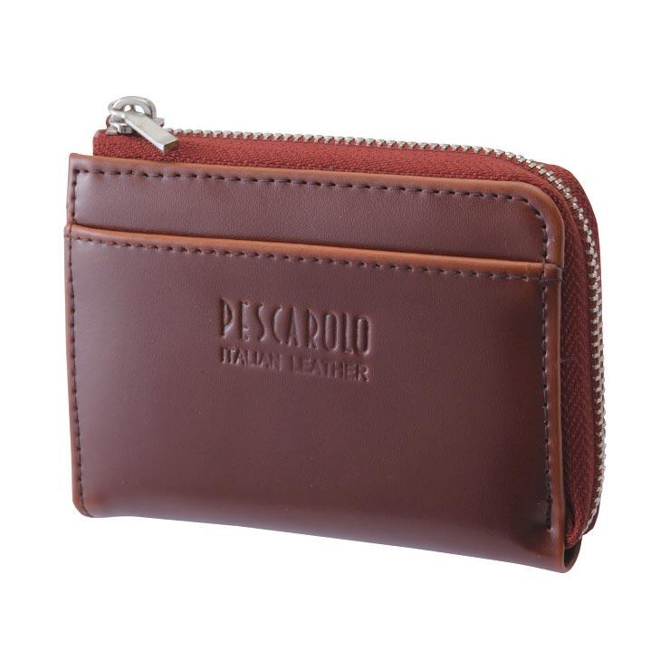 ペスカロロ イタリアンレザー小銭入 ブラウン PR605C の商品画像