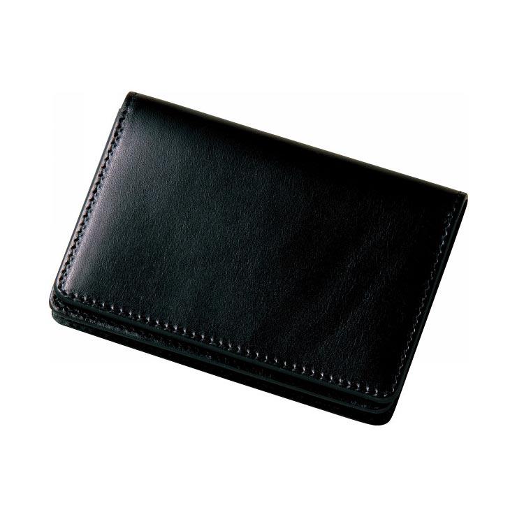 栃木レザー 名刺入れ ブラック 630005−10 の商品画像