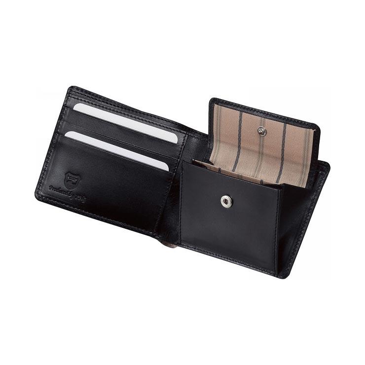 栃木レザー 札入れ ブラック 630002−10 の商品画像