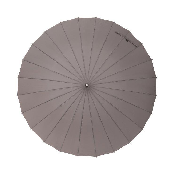 マブ 24本骨ジャンプ傘 メンズアッシュ MBU‐24J09 の商品画像