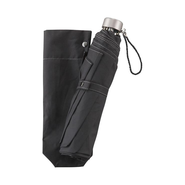 大寸 折りたたみ傘 ブラック 271‐BK の商品画像