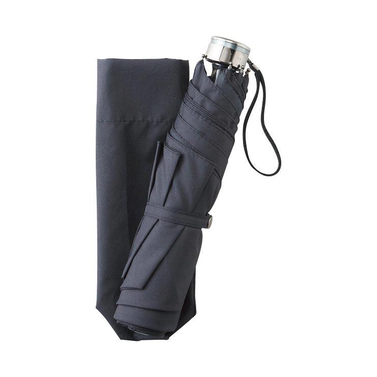 男女兼用 耐風ミニ傘 ブラック OBH‐02WSB の商品画像