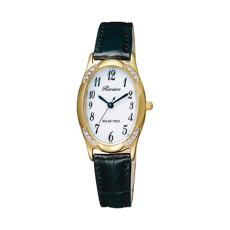 リビエール ソーラーレディース腕時計 ゴールド KH1−212−10 の商品画像