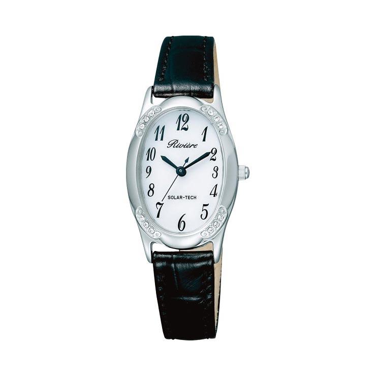リビエール ソーラーレディース腕時計 シルバー KH1−026−10 の商品画像