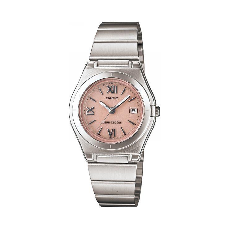 カシオ ソーラー電波レディース腕時計 ピンク LWQ−10DJ−4A1JF の商品画像