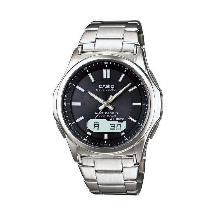 カシオ 電波ソーラー腕時計 WVA−M630D−1AJF の商品画像