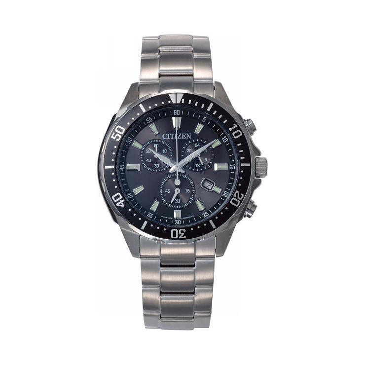 シチズン メンズ腕時計ブラック VO10−6771F の商品画像