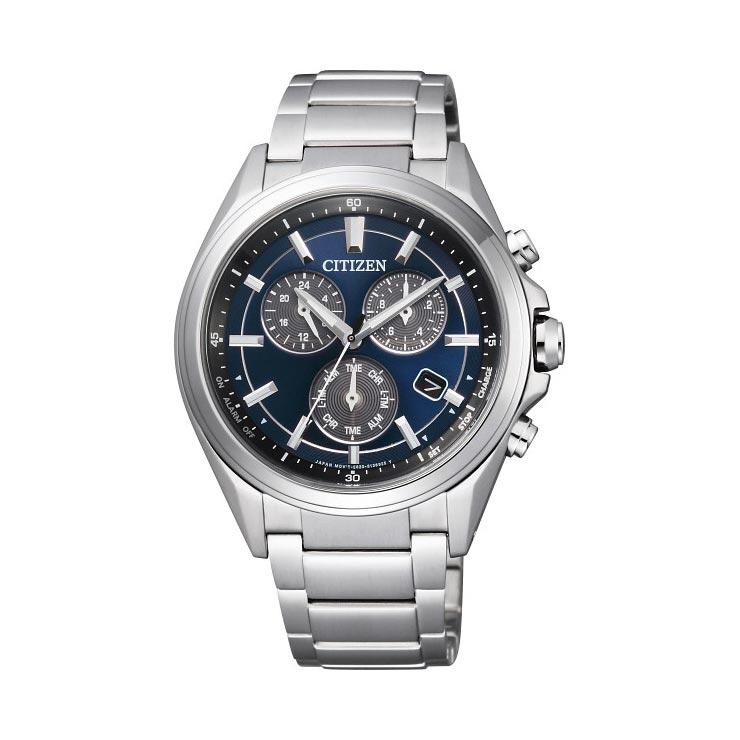 シチズン アテッサ メンズ腕時計 ブルー BL5530−57L の商品画像