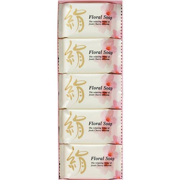 絹石鹸 フローラルソープ KFCR5 の商品画像